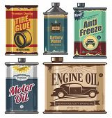 foto of lubricant  - Vintage collection of car and transportation related products - JPG