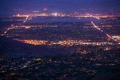 Palm Desert Night Panorama