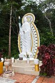 Buddah Statue In Ta Cu Mountain, Vietnam.