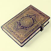 Old Ornate Notebook