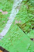 Light Grunge Mint Green Paint Background Texture