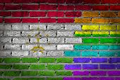 Dark Brick Wall - Lgbt Rights - Tajikistan