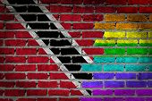 Dark Brick Wall - Lgbt Rights - Trinidad And Tobago