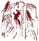 Blood spots