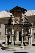 Santa Maria fountain, Baeza.