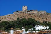 Castle on hilltop, Jimena de la Frontera.