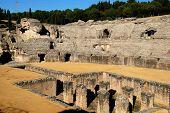 Roman amphitheatre, Italica, Seville.