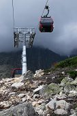 Cable Car In The High Tatras