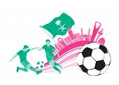 Saudi Arabia Football Soccer City
