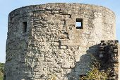 Big Stone Tower Of A Fortress