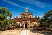Sulamani Pagoda. Buddhist Temples At Bagan, Myanmar (burma) Travel Landscapes And Destinations