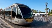 City Of Nice - Tram In The City