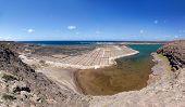 Lanzarote - The saline Salinas de Janubio