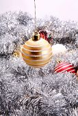 Yellow Christmas Decoration