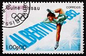 Postage Stamp Guinea-bissau 1989 Figure Skating