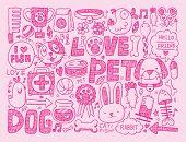 Doodle Pet Background