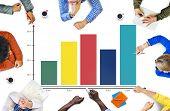 Graph Growth Success Concept