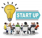 Start Up Business Marketing Concept
