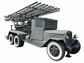 Katyusha Multiple Rocket Launcher