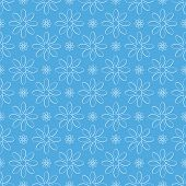Abstract Seamless Floral Pattern
