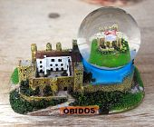 Cadre Obidos Castle Glass