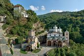 picture of macedonia  - old ancient church complex and monastery st - JPG