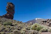 El Teide With High Rock