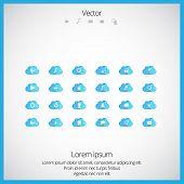 Icon set. vector