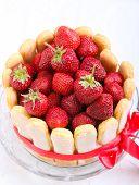 Yogurt Strawberry Cake