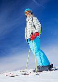 Ski, skier, winter