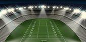Football Stadium Night