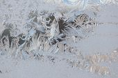 Frost Design on Window