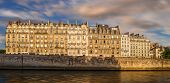 Paris Ile De La Cite And Haussmannian Architecture