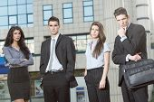 Serious Young Business People