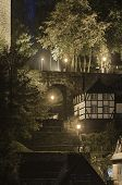 Stairway At Night, Monschau