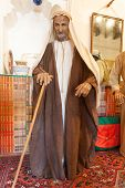 Bedouin Man In Traditional Dress