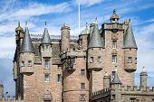 View of Glamis Castle, Scotland