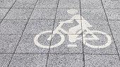 Symbol Of The Bike Path
