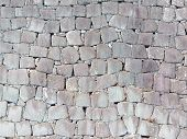 Wall Of Natural Stone