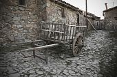Old Wagon, Fikardou Village.