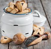 stock photo of purim  - Hamantaschen cookies or Haman - JPG
