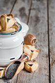 image of purim  - Hamantaschen cookies or Haman - JPG