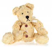 Yellow Vintage Teddy Bear