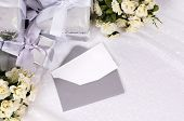 Wedding Gifts With Invitation Or Thank You Card