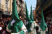 Holy Week Procession, Malaga.
