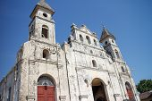 picture of guadalupe  - iglesia de Guadalupe outdoors from Granada Nicaragua - JPG