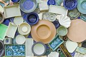 pic of debonair  - The pattern design with kitchenware for decorate project - JPG