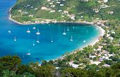 Beautiful Bay In Tortola