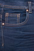picture of denim jeans  - Photo of jeans pocket denim blue background - JPG