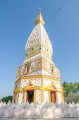 foto of northeast  - Buddhist Stupa in Loei Northeast of Thailand - JPG